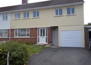 Thumbnail 4 bed semi-detached house to rent in St. Martins Park, Haverfordwest