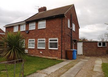 Thumbnail 3 bed semi-detached house for sale in Woodside Crescent, Hadston, Morpeth, Northumberland