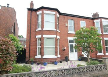 Thumbnail 4 bed end terrace house for sale in Carlton Road, Sale