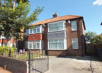 Thumbnail 2 bedroom semi-detached house for sale in Brookside Crescent, Newcastle Upon Tyne