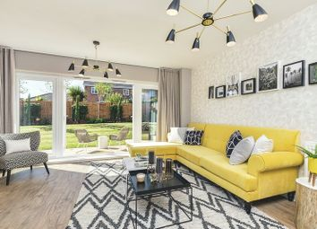 Thumbnail 3 bed semi-detached house for sale in De Burgh Gardens, Tadworth