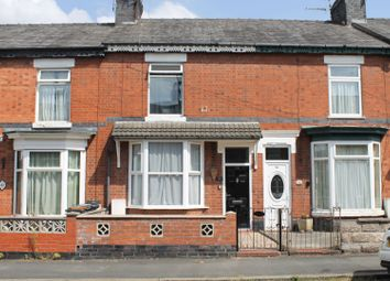 Thumbnail 3 bed terraced house for sale in Westminster Street, Crewe