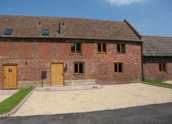 Thumbnail 3 bedroom terraced house to rent in Frodesley Hall Farm Barns, Frodesley, Shrewsbury
