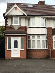 Thumbnail 4 bed semi-detached house to rent in Glendower Road, Birmingham