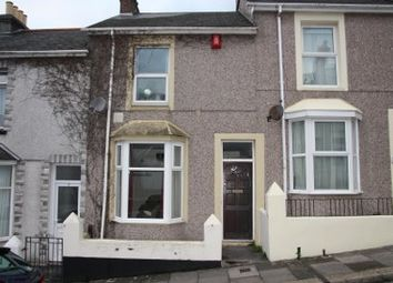 Thumbnail 2 bed terraced house to rent in Hanover Road, Plymouth