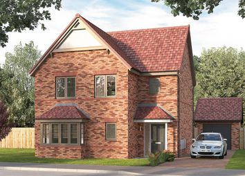"Thumbnail 4 bed detached house for sale in ""The Bibury"" at Ward Road, Clipstone Village, Mansfield"