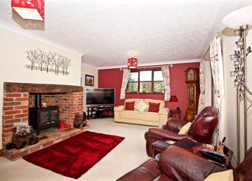 Thumbnail 3 bed detached house for sale in Mellis Road, Yaxley, Eye