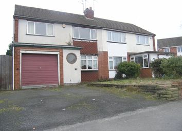 Thumbnail 3 bed semi-detached house for sale in Balmoral Drive, Broadway Estate, Willenhall