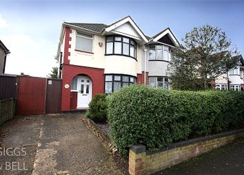 Thumbnail 3 bed semi-detached house for sale in Somerset Avenue, Luton, Bedfordshire