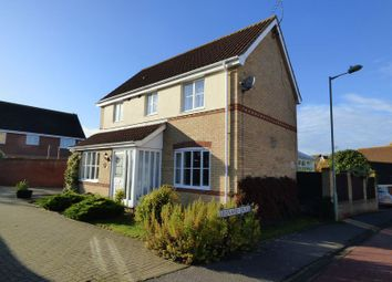 Thumbnail 3 bedroom detached house for sale in Leonard Drive, Lowestoft