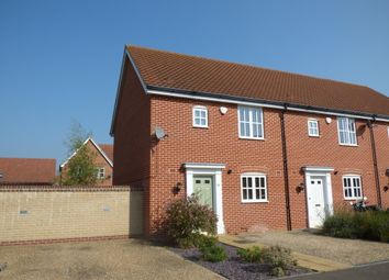 Thumbnail 3 bed end terrace house to rent in Ryefield Road, Mulbarton, Norwich