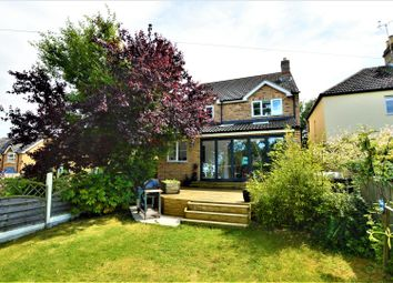 Thumbnail 4 bedroom detached house for sale in Bourne Road, Essendine, Stamford