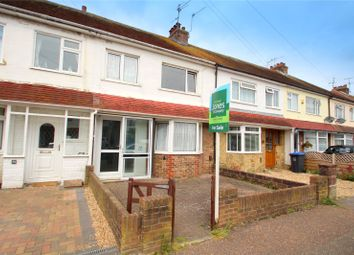 Thumbnail 3 bed terraced house for sale in Annweir Avenue, Lancing, West Sussex