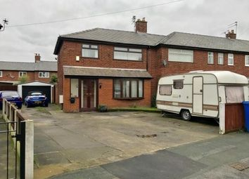 Thumbnail 3 bed end terrace house for sale in Ullswater Avenue, Orford, Warrington, Cheshire
