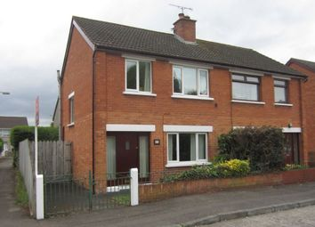 Thumbnail 3 bed semi-detached house to rent in Ava Crescent, Belfast