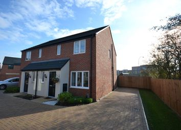 Thumbnail 3 bedroom semi-detached house for sale in Walmer Close, Marina Park, Northampton