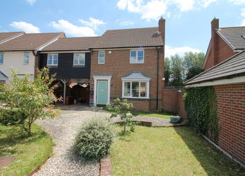 Thumbnail 3 bed link-detached house for sale in Wren Close, Stanway, Colchester