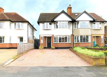 Thumbnail 4 bed semi-detached house for sale in Vaughan Road, Thames Ditton