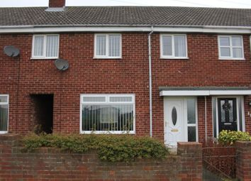 Thumbnail 3 bed terraced house to rent in Sitwell Walk, Hartlepool