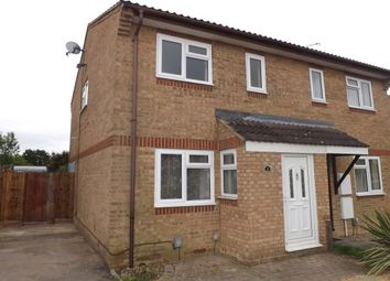 Thumbnail 3 bedroom property to rent in Hammersmith Close, Houghton Regis, Dunstable