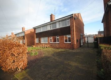 Thumbnail 3 bed semi-detached house to rent in Windsor Drive, Market Drayton