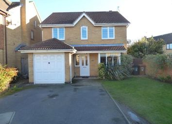 Thumbnail 4 bed detached house for sale in Harris Close, Wootton, Northampton, Northamptonshire