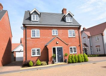 Thumbnail 5 bed detached house for sale in Woodpecker Gardens, Wixams, Bedford