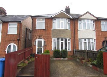 Thumbnail 3 bedroom semi-detached house for sale in Park View Road, Ipswich