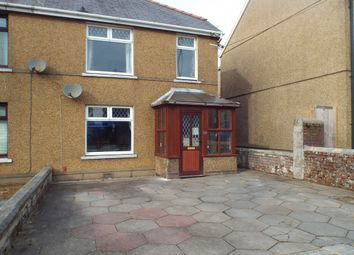 Thumbnail 2 bed semi-detached house for sale in Bethania Road, Upper Tumble, Llanelli