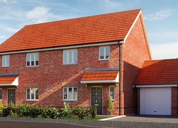 Fusiliers Green, Heckfords Road, Great Bentley, Colchester CO7. 3 bed semi-detached house