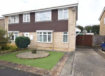 Thumbnail 3 bed semi-detached house for sale in Crowther Close, Staplehurst, Tonbridge