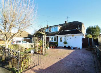 Thumbnail 4 bed semi-detached house for sale in Willow Close, Canvey Island