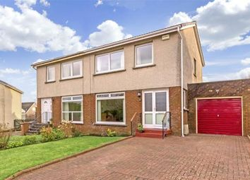 Thumbnail 3 bed semi-detached house for sale in Kintyre Crescent, Newton Mearns, Glasgow