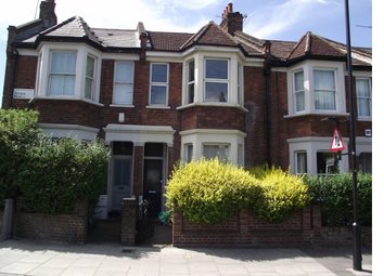 Thumbnail 2 bed flat to rent in Terrace Road, London