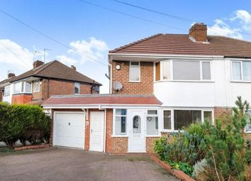 Thumbnail 3 bed semi-detached house for sale in Cherry Tree Avenue, Walsall, West Midlands