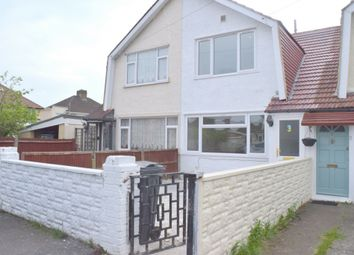 Thumbnail 3 bed terraced house to rent in Norfolk Road, Feltham