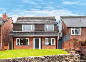 Thumbnail 4 bed detached house for sale in The Gables, Church Lane, Mow Cop