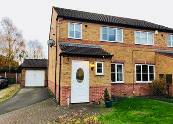 Thumbnail 3 bed semi-detached house for sale in Durham Close, Fazeley, Tamworth