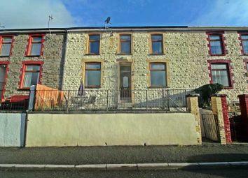 Thumbnail 3 bed terraced house for sale in Heath Terrace, Ynyshir, Porth, Rhondda Cynon Taff