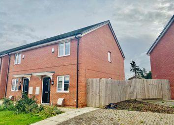 Thumbnail 2 bed semi-detached house for sale in Arnhem Way, Donington, Spalding