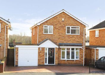 Thumbnail 3 bed detached house for sale in Cottage Farm Close, Madeley, Telford