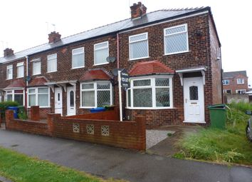 Thumbnail 2 bed end terrace house to rent in Bedford Road, Hessle