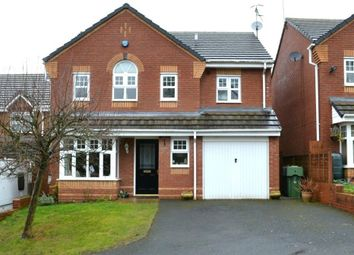 Thumbnail 4 bed detached house to rent in Mikado Road, Finstall, Bromsgrove