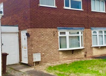 Thumbnail 3 bed semi-detached house to rent in Tenbury Close, Bentley, Walsall