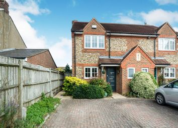 Thumbnail 3 bed semi-detached house for sale in Woodbine Close, Longwick, Princes Risborough