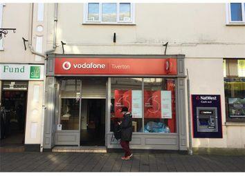 Thumbnail Retail premises to let in 13, Fore Street, Tiverton, Devon, UK