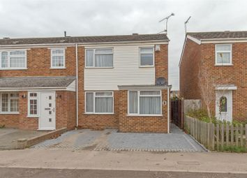 Thumbnail 3 bedroom end terrace house for sale in East Hall Lane, Sittingbourne