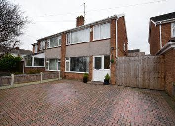 Thumbnail 3 bed semi-detached house for sale in Wervin Road, Prenton