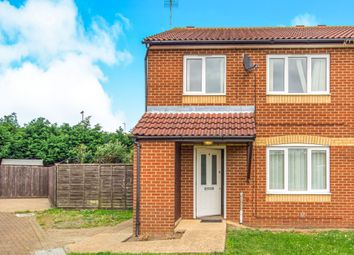 Thumbnail 3 bedroom semi-detached house for sale in Pentelow Close, Murrow, Wisbech