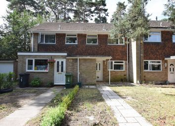 Thumbnail 3 bed terraced house for sale in Cheviot Close, Camberley, Surrey